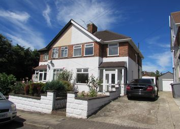 Thumbnail 3 bedroom semi-detached house to rent in Bovingdon Avenue, Wembley