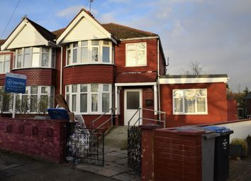 Thumbnail 4 bed end terrace house to rent in Lancelot Road, Wembley