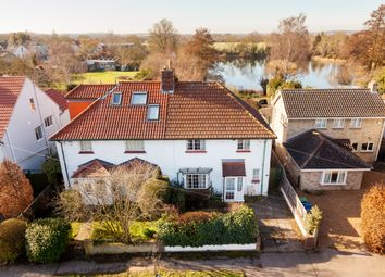 Thumbnail 4 bed semi-detached house for sale in Grantchester Road, Cambridge