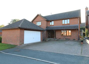 Thumbnail 5 bed detached house for sale in The Meadows, Hereford, Herefordshire