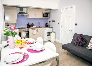 Thumbnail 2 bed flat to rent in South Cliff Avenue, Eastbourne