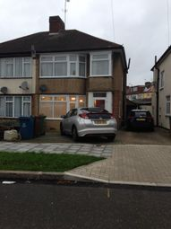 Thumbnail 3 bed semi-detached house to rent in Corfe Avenue, Harrow, Middlesex