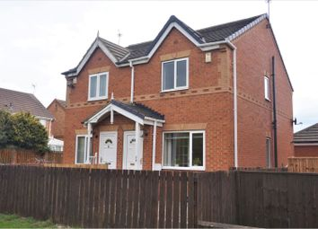 Thumbnail 2 bed semi-detached house for sale in Medway Place, Cramlington