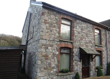 Thumbnail 4 bed end terrace house for sale in Oddfellows Street, Ystradgynlais, Swansea.