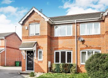 Thumbnail 3 bed semi-detached house to rent in Oakshaw Close, Manchester