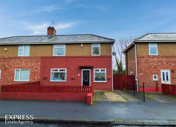 Thumbnail 2 bedroom semi-detached house for sale in Maple Crescent, Blyth, Northumberland