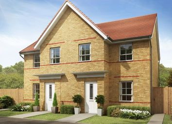 """Thumbnail 3 bedroom semi-detached house for sale in """"Palmerston"""" at Hebron Avenue, Pegswood, Morpeth"""