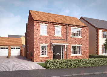 Thumbnail 4 bed detached house for sale in Bentley Court, Yaddlethorpe Grange, Scunthorpe