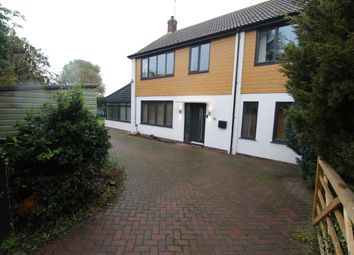 Thumbnail 4 bed detached house for sale in Woodhill Road, Collingham, Newark