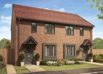 "Thumbnail 2 bed semi-detached house for sale in ""Roseberry"" at Churchward Drive, Telford"