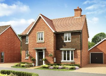 "Thumbnail 4 bed detached house for sale in ""Mitchell"" at Broughton Crossing, Broughton, Aylesbury"