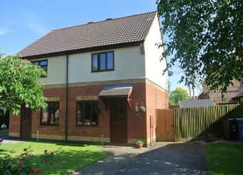 Thumbnail 2 bed semi-detached house for sale in Viking Way, Thurlby, Bourne, Lincolnshire