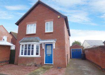 Thumbnail 3 bed detached house for sale in Oakfield Road, Long Stratton