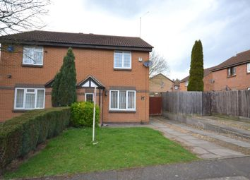 Thumbnail 3 bedroom semi-detached house to rent in Yeoman Meadow, East Hunsbury, Northampton