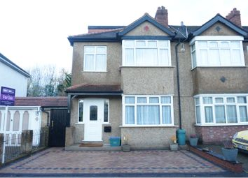 Thumbnail 4 bed semi-detached house for sale in Tramway Path, Mitcham