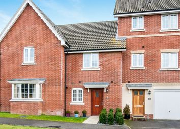 Thumbnail 2 bed terraced house for sale in Lapwing Grove, Stowmarket
