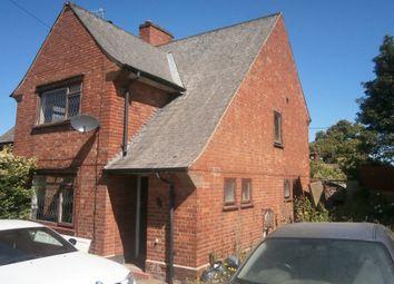 Thumbnail 3 bed terraced house for sale in Brayton Crescent, Nottingham