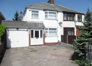 Thumbnail 3 bed semi-detached house to rent in Oxley Moor Road, Wolverhampton