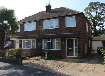 Thumbnail 3 bed semi-detached house for sale in Beech Close, Byfleet, Surrey