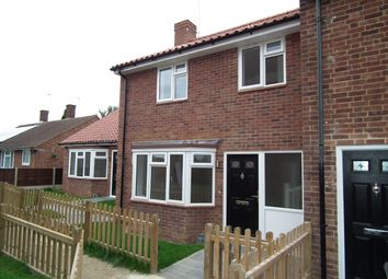 Thumbnail 2 bedroom end terrace house for sale in Somers Square, Welham Green, North Mymms