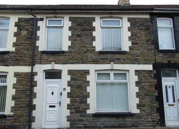 Thumbnail 3 bed terraced house for sale in Thompson Street, Hopkinstown, Pontypridd