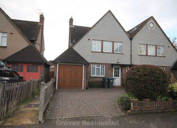 Thumbnail 3 bed semi-detached house for sale in Lime Grove, New Malden
