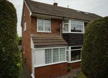 Thumbnail 3 bed semi-detached house for sale in Beverley Crescent, Stoke-On-Trent