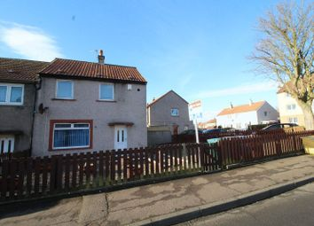 Thumbnail 2 bed end terrace house for sale in Cramond Gardens, Kirkcaldy