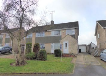 Thumbnail 3 bed semi-detached house for sale in Eaton Road, Duston, Northampton