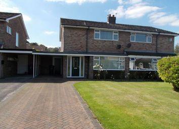 Thumbnail 3 bed semi-detached house to rent in Croft Avenue, Burscough, Ormskirk, Lancashire