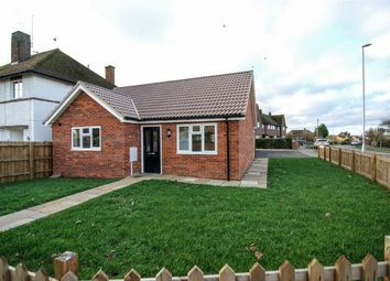 Thumbnail 2 bed detached bungalow for sale in Highfield Road, Thrapston, Kettering