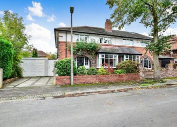 Thumbnail 4 bed semi-detached house for sale in Dunollie Road, Sale