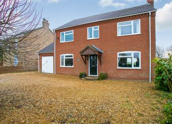 Thumbnail 4 bed detached house for sale in Church Road, Christchurch, Wisbech