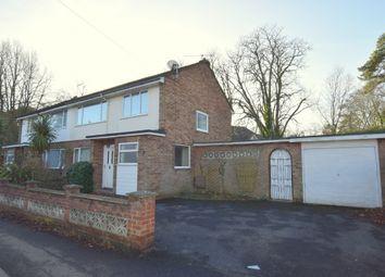Thumbnail 3 bed semi-detached house for sale in Aldershot Road, Fleet