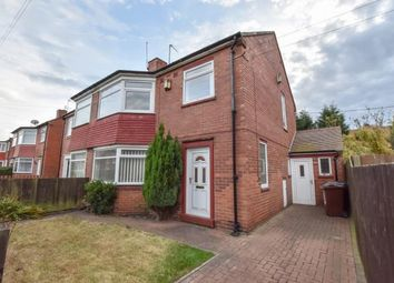 Thumbnail 3 bed semi-detached house for sale in Whalton Avenue, Coxlodge, Newcastle Upon Tyne, Tyne And Wear