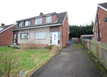 Thumbnail 3 bedroom semi-detached house for sale in Birch Drive, Bangor