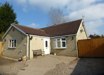 Thumbnail 4 bed detached bungalow for sale in Sykes Lane, Saxilby, Lincoln