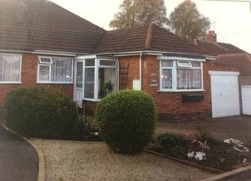 Thumbnail 3 bed semi-detached bungalow for sale in Fenton Road, Hollywood, Birmingham