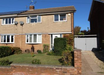 Thumbnail 3 bed semi-detached house for sale in Kedleston Road, Worksop