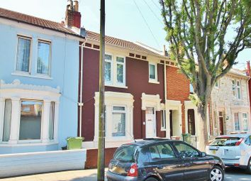 Thumbnail 3 bed terraced house for sale in Frensham Road, Southsea