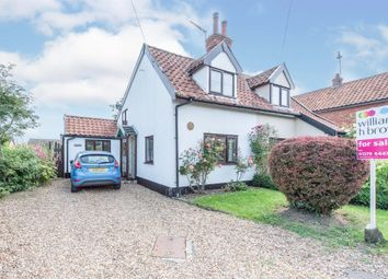 Thumbnail 2 bed property for sale in School Lane, Redenhall, Harleston