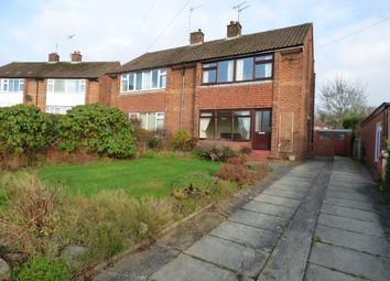 Thumbnail 3 bed semi-detached house for sale in St. Johns Avenue, Oulton, Stone, Staffordshire
