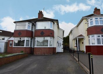 Thumbnail 3 bed semi-detached house for sale in Barton Croft, Hall Green, Birmingham