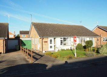 Thumbnail 2 bed semi-detached bungalow for sale in Crew Road, Collingham, Newark