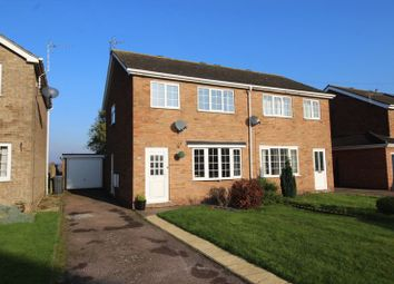 Thumbnail 3 bed semi-detached house for sale in Eagle Drive, Welton, Lincoln