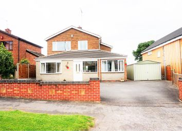 Thumbnail 3 bed detached house for sale in Coventry Close, Midway, Swadlincote