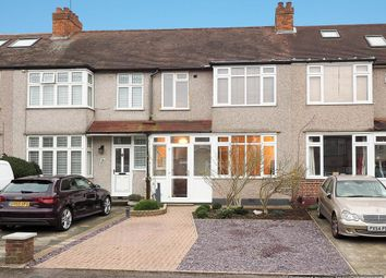 Thumbnail 3 bed terraced house for sale in Morley Road, North Cheam, Sutton