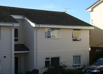 Thumbnail 2 bedroom flat to rent in Upper Longlands, Dawlish