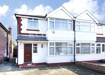 Thumbnail 3 bedroom semi-detached house for sale in Morley Crescent East, Stanmore, Middlesex