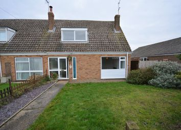 Thumbnail 3 bed semi-detached bungalow for sale in Manor Walk, Kessingland, Lowestoft